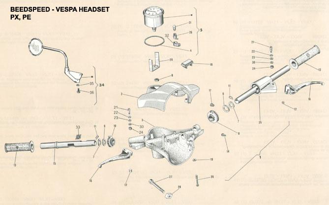 Vespa headset p200e agusjakaswaras blog desain mesin vespa vespa headset p200e ccuart Choice Image